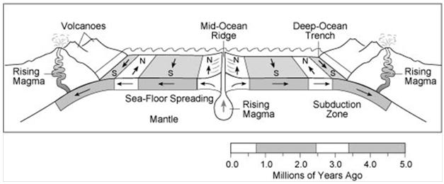 mid ocean ridge morphology