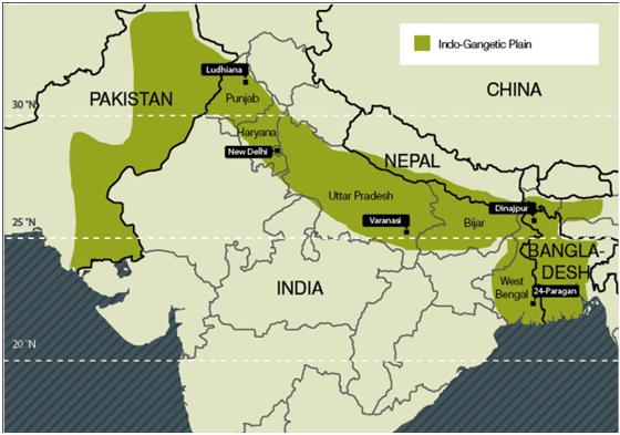 Northern Plains Of India Map Himalaya, Plain and Plateaus, Coastal Plain and Islands