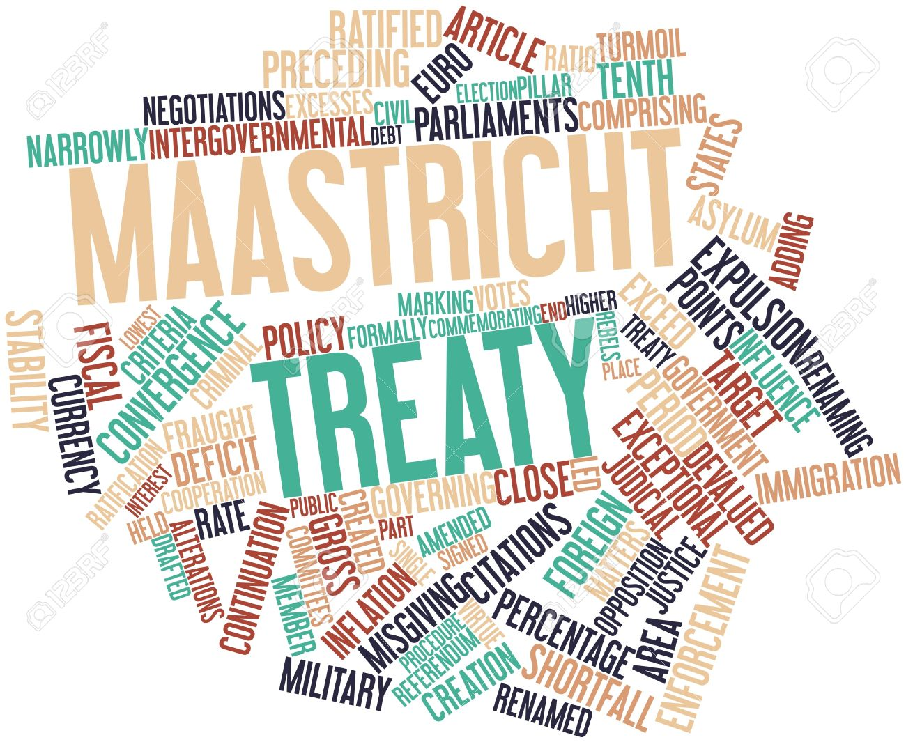 maastricht treaty Maastricht is officially known as the treaty of the european union and with it the eu came into existence for the first time by adding two new areas - justice and home affairs and a common foreign and security policy - to the existing european community, the so-called three pillars of the union were established.
