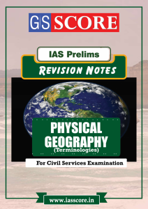 Study Material for Revision Notes Physical Geography